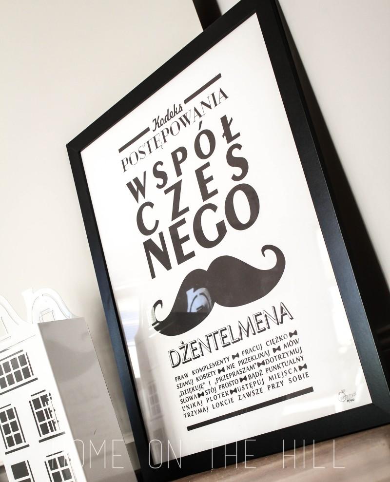typograficzny plakat