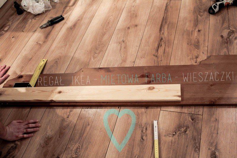 regał LEKSVIK IKEA, półka kuchenna,