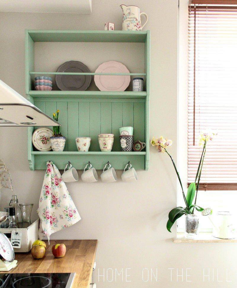 półka kuchenna, metamorfoza mebli IKEA