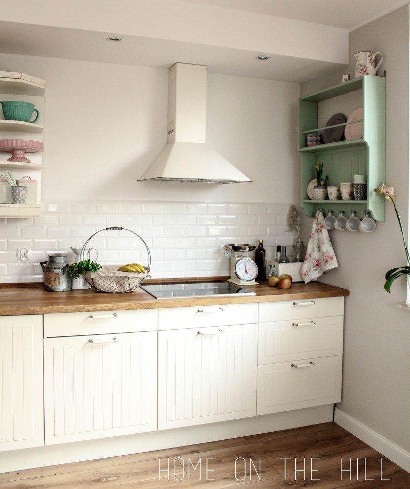 DIY kuchenna półka  metamorfoza regału IKEA  Home on the