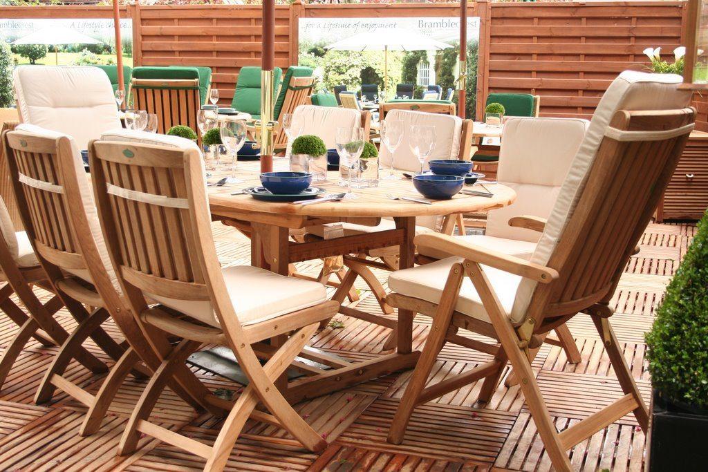 Drewniane Meble Ogrodowe Home On The Hill Blog
