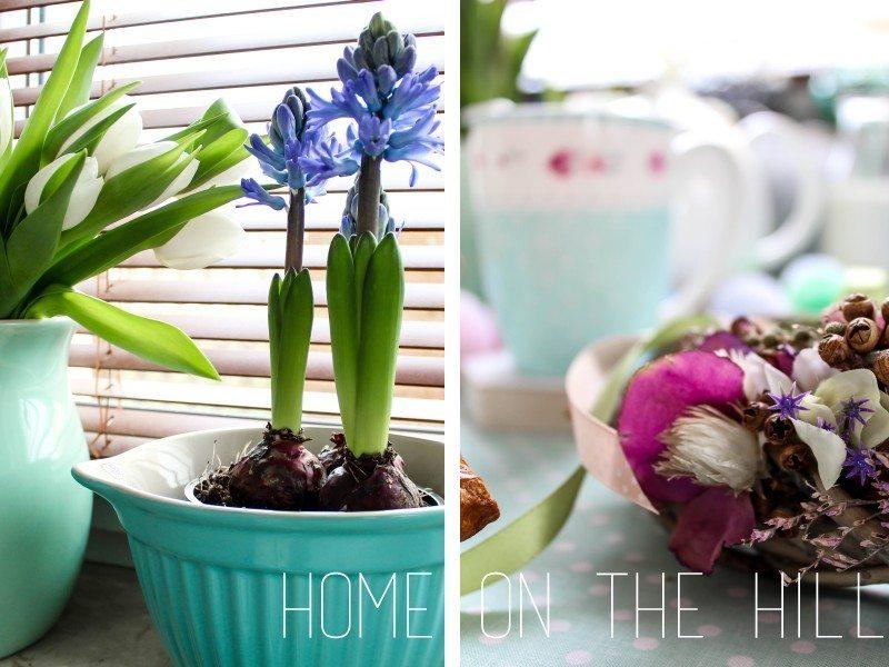 wiosna kwiaty w domu