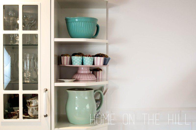 kolor miętowy w kuchni