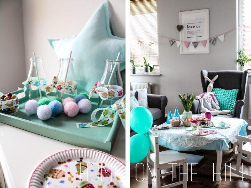 dekoracje przyjecie dla dziecka