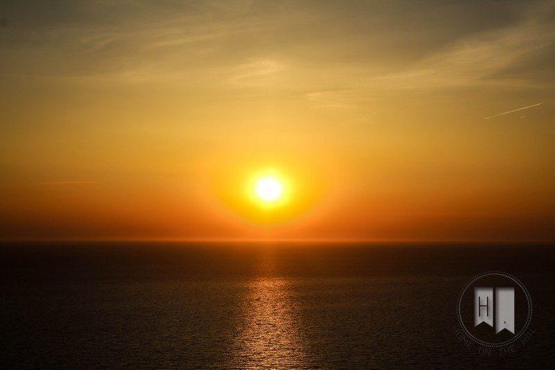 Keri zachód słońca