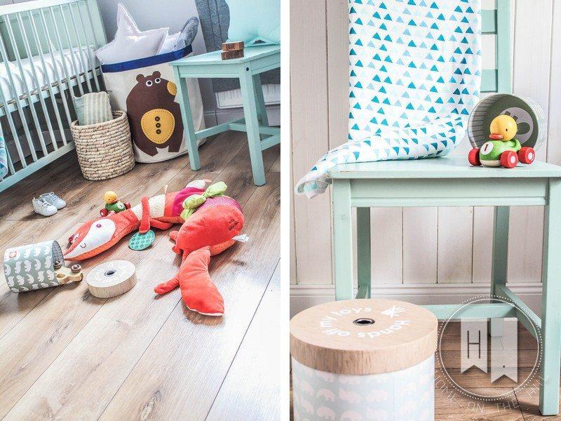 pokój dla dziecka w skandynawskim stylu