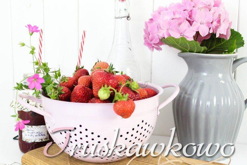 domowe przetwory z truskawek