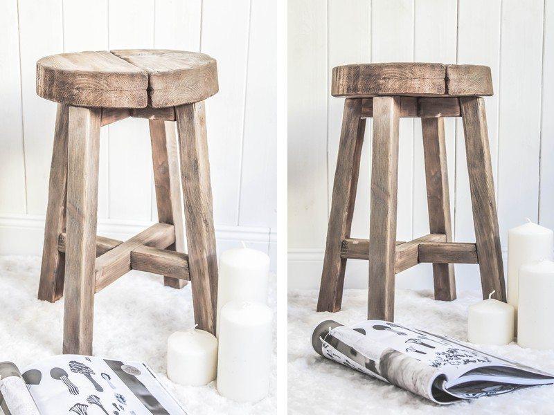 drewniany stołek