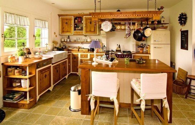 kuchnia w stylu rustyklanym