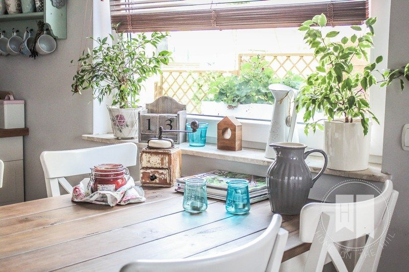 stół kuchenny, stylowa kuchnia