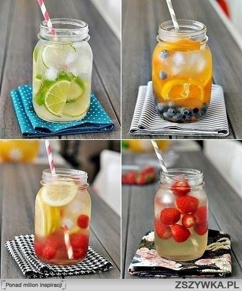 owocowe napoje z pomysłem