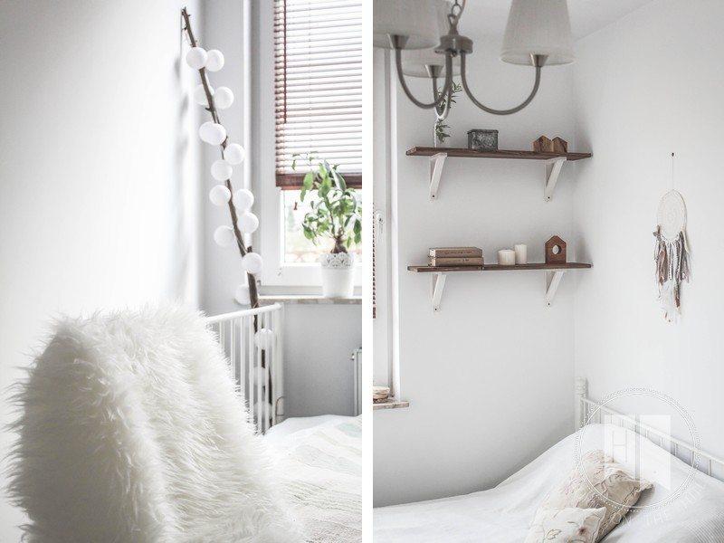 półki w skandynawskim stylu