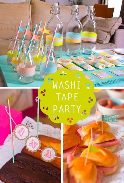 dekoracje przyjęcie dla dzieci DIY