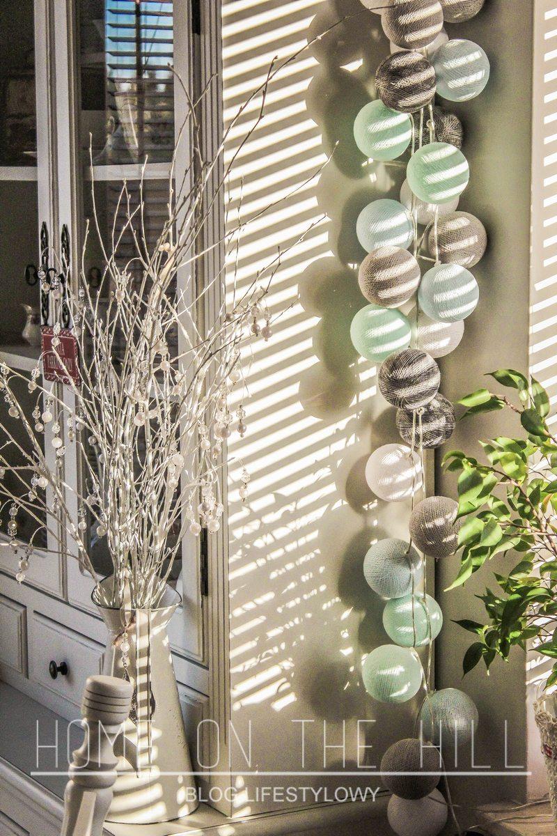 cotton ball lights zestaw home on the hill