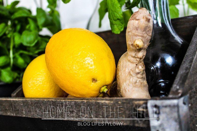 imbir z cytryną