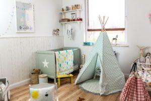 pokój dla dziecka skandynawski