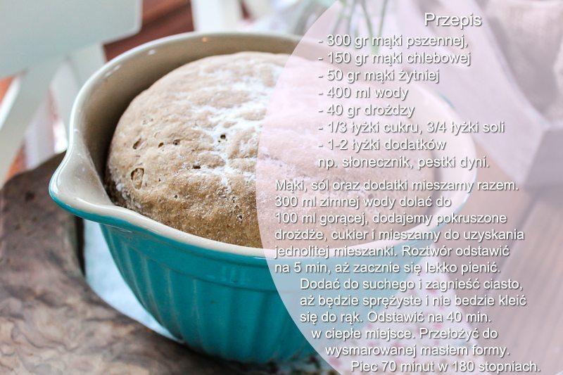Przepis na chleb pszenno-żytni