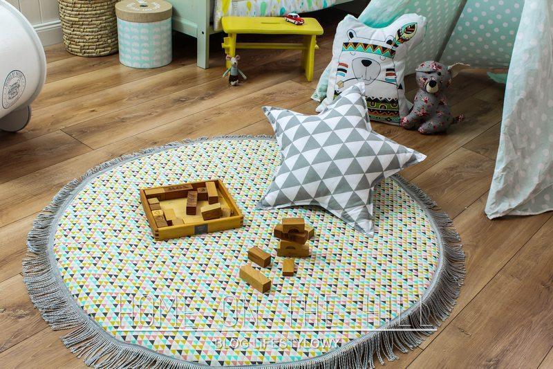 klocki drewniane pokój dla dzieci