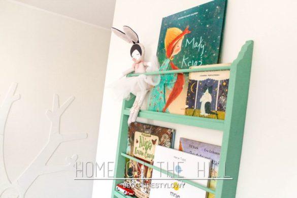 półeczka na książki pokój dziecięcy