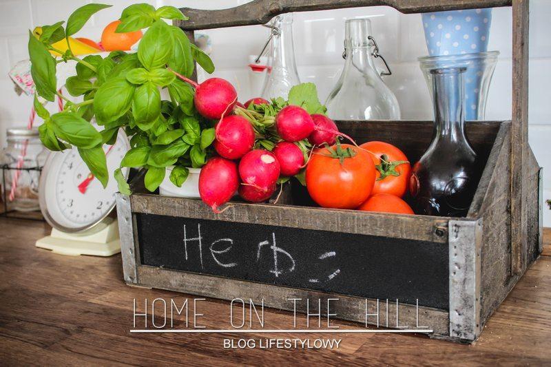 świeże warzywa w kuchni