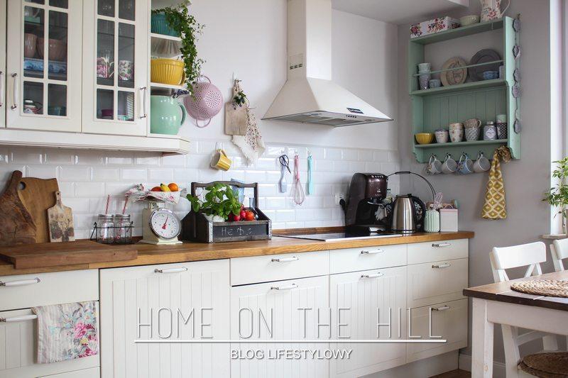 półka miętowa kuchenna