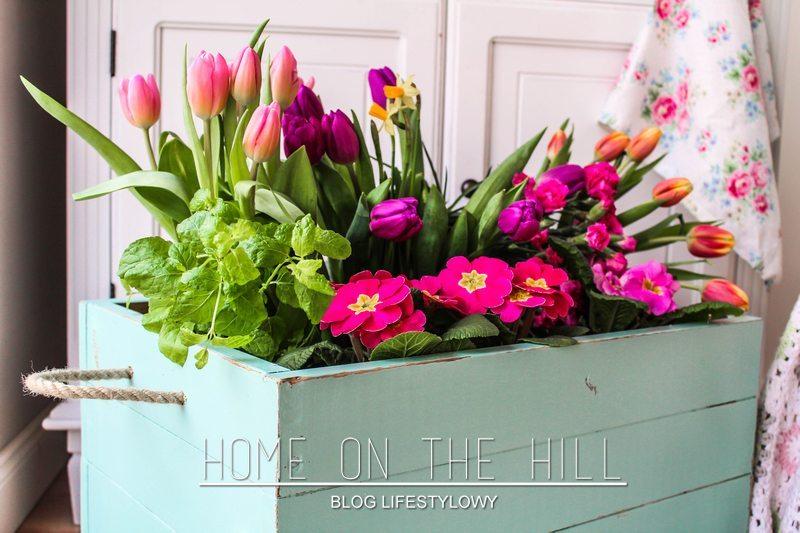 diy skrzynia na kwiaty