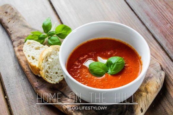przepis na krem z pomidorów