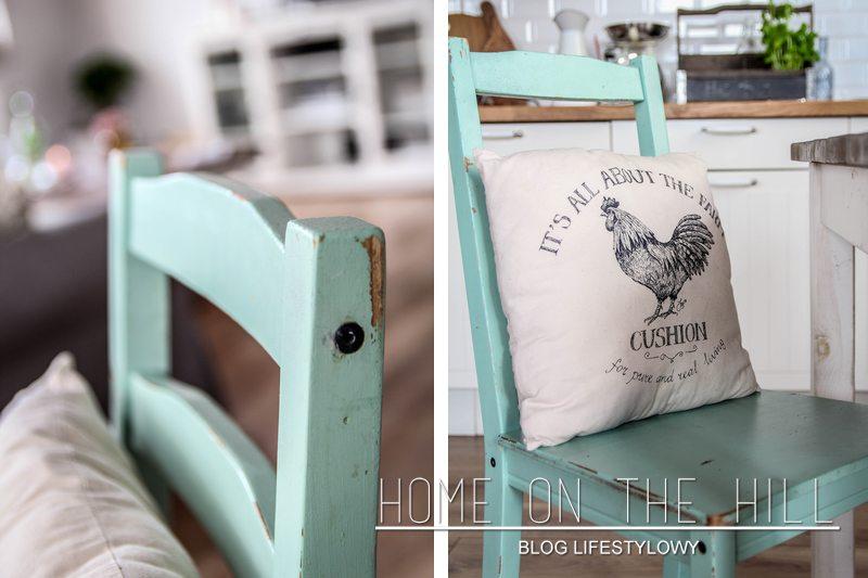 krzesło miętowe