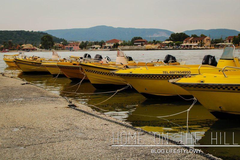 taxi boat corfu
