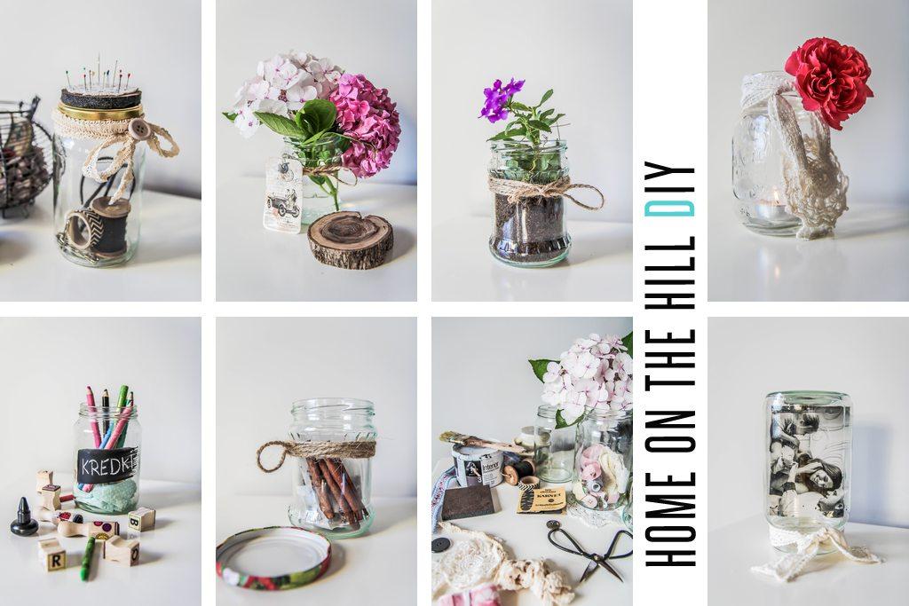 7 Sposobów Diy Na Wykorzystanie Słoika Home On The Hill