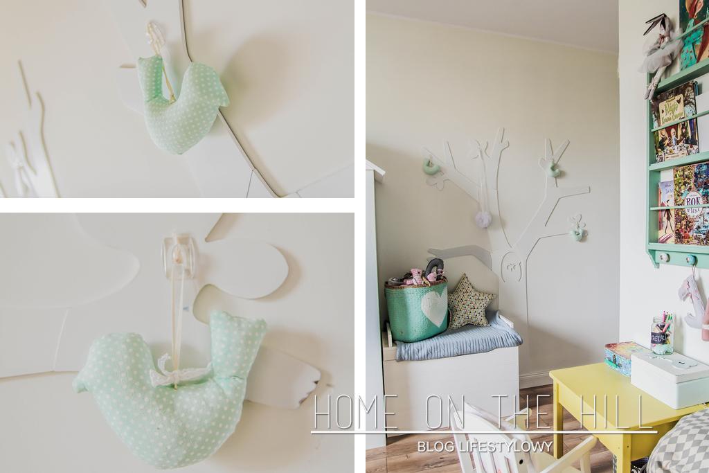drzewo w pokoju dziecięcym