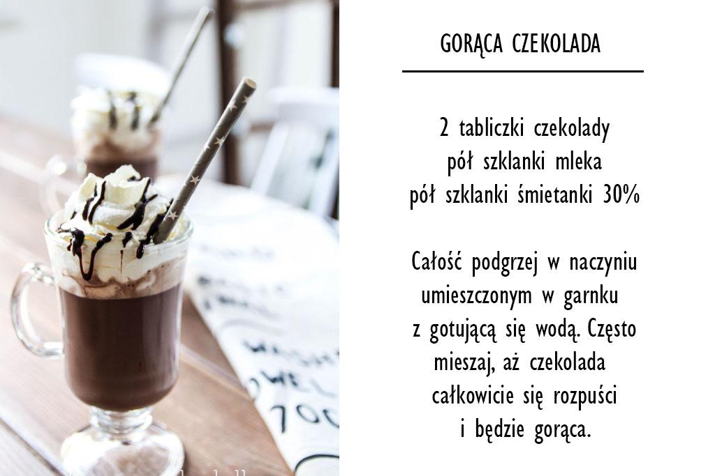 przepis na gorącą czekoladę