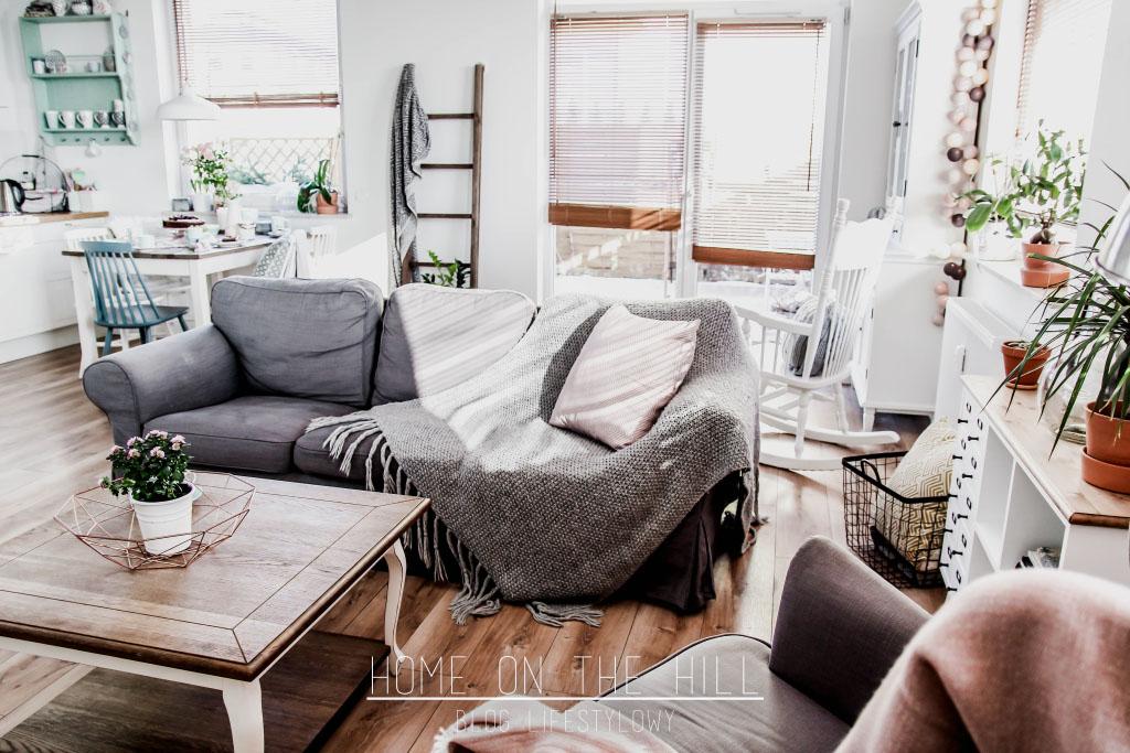 salon w romantycznym stylu