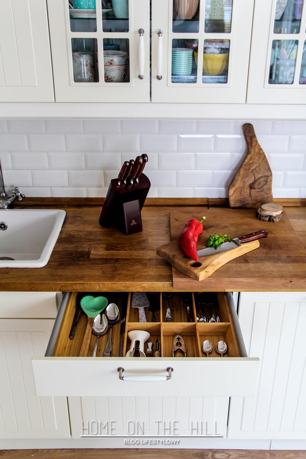 organizacja kuchennych sprzętów