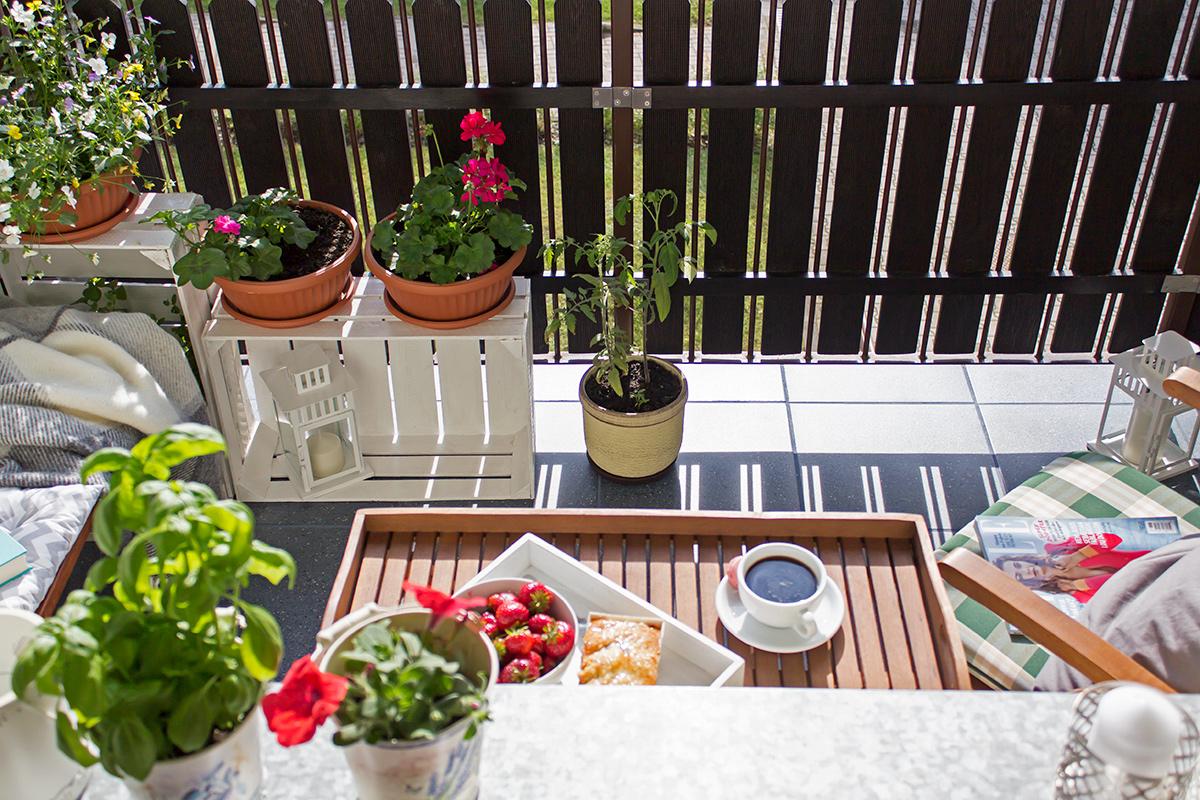 balkon aranżaja
