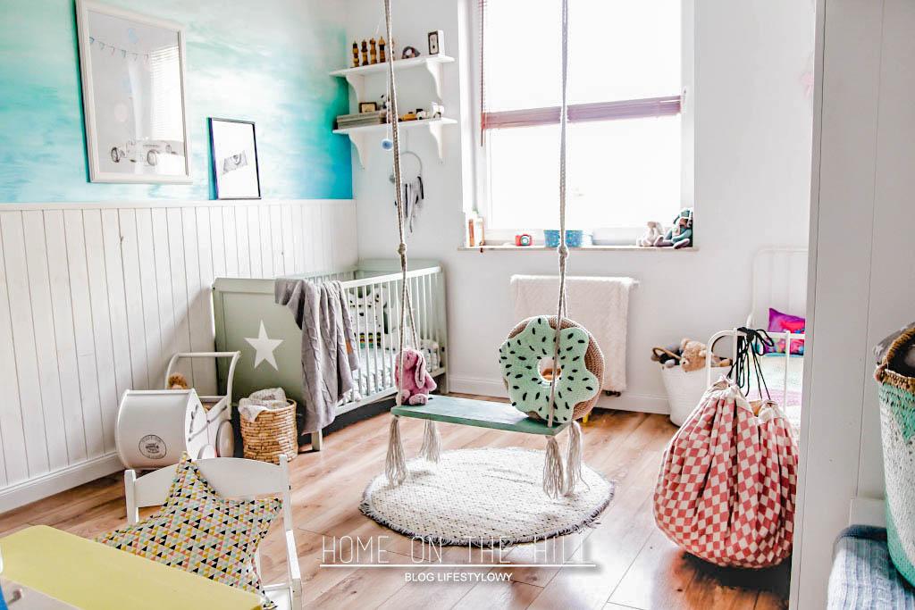 pokój dziecięcy w skandynawskim stylu