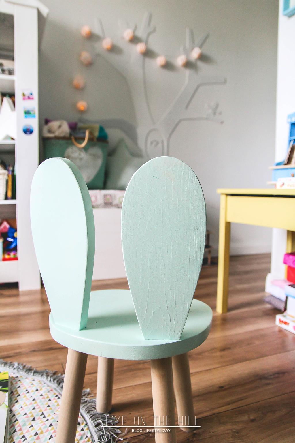 krzesełko-króliczek
