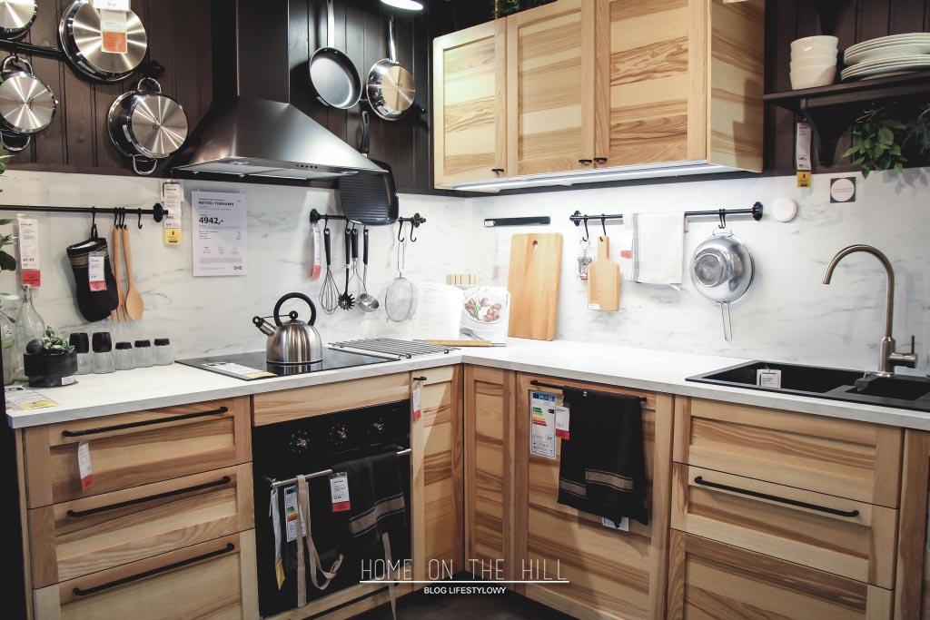 Kuchnia Sosnowe Fronty Home On The Hill Blog Lifestylowy