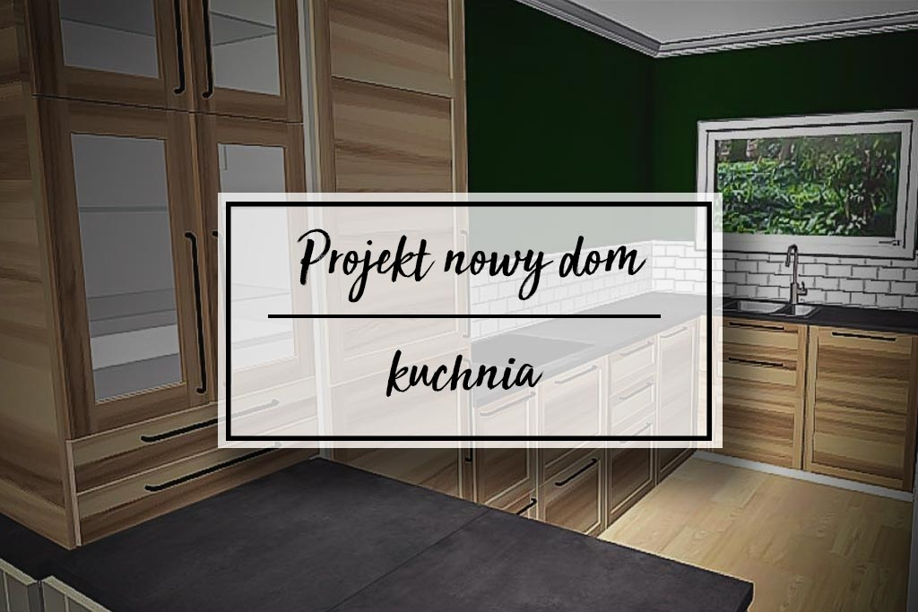 Projekt Nowy Dom Nasza Przyszła Kuchnia Home On The