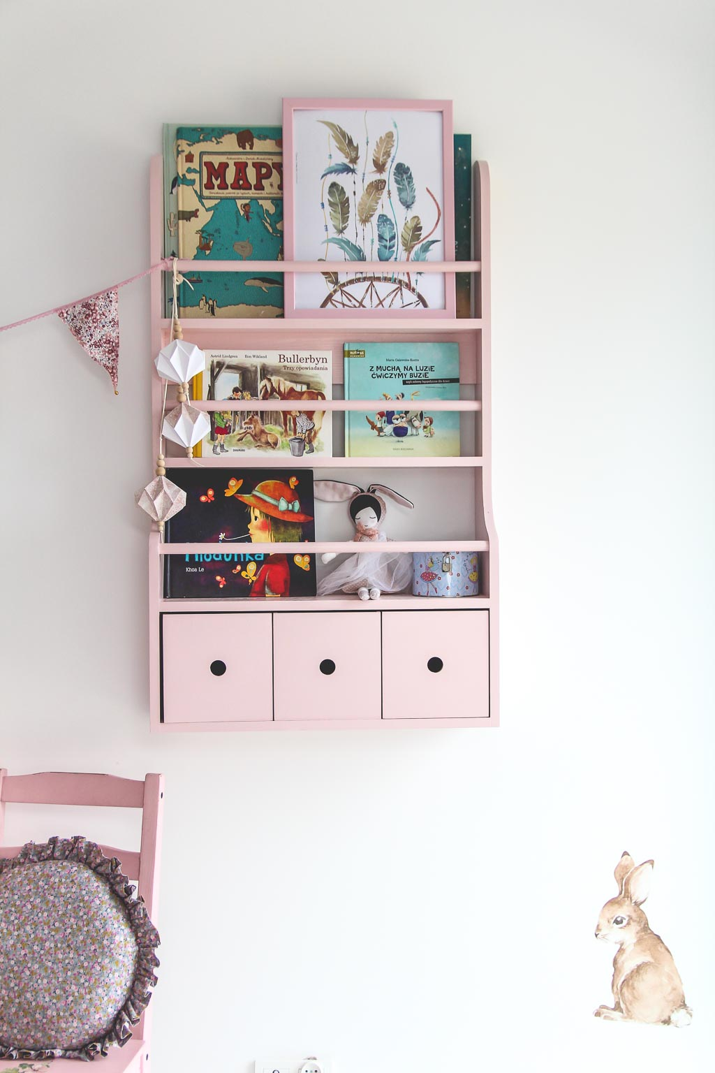 półka na ksiazki