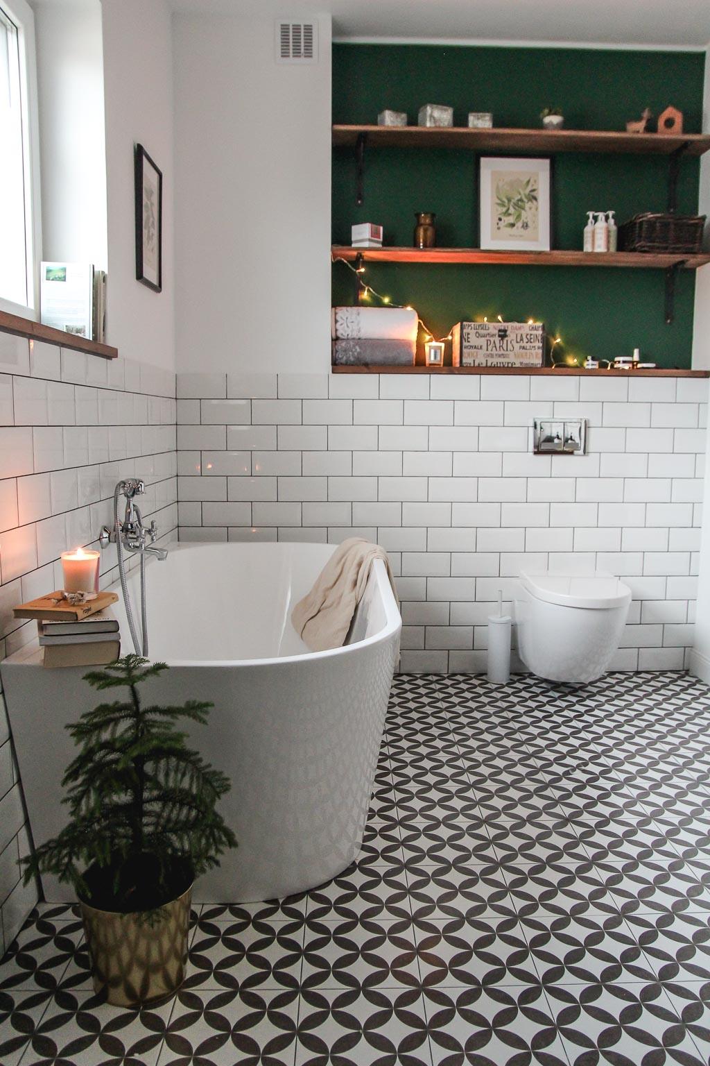 Wielka Odsłona Nasza łazienka Home On The Hill Blog