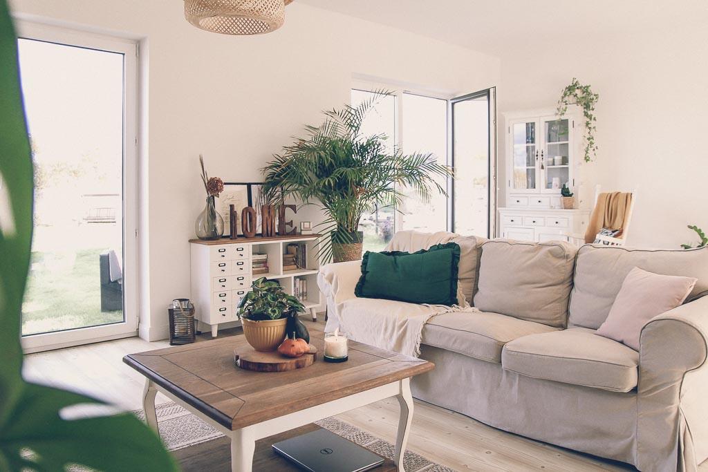 jesienne dekoracje w domu