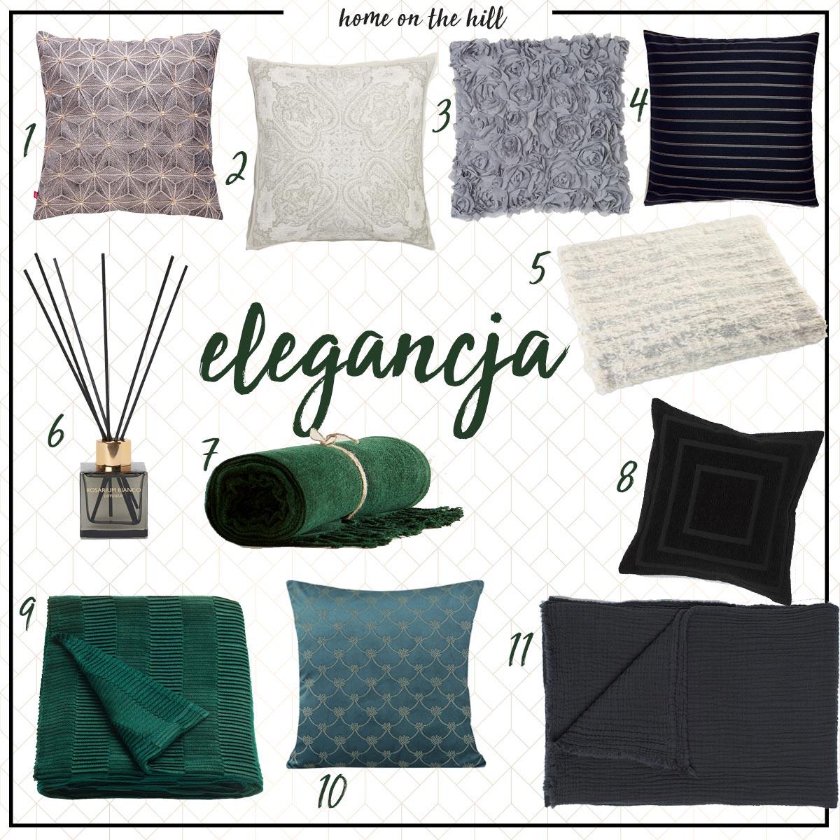 eleganckie poduszki dekoracyjne