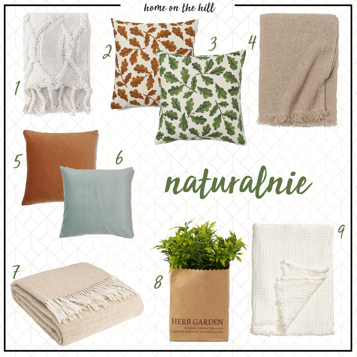 naturalne tekstylia