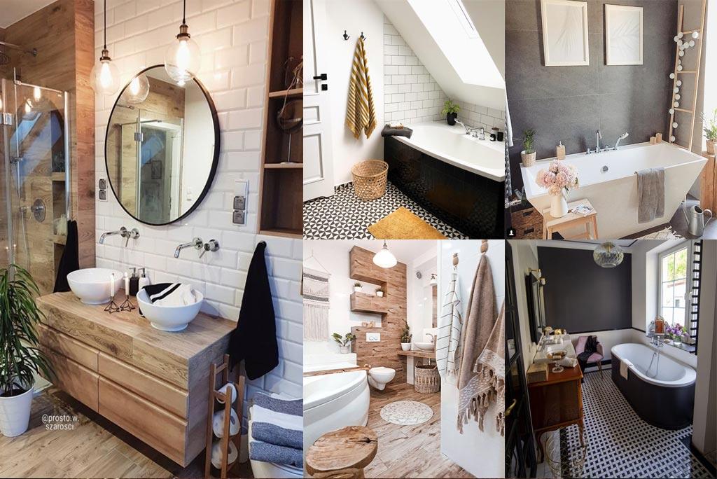 najpiękniejsze łazienki