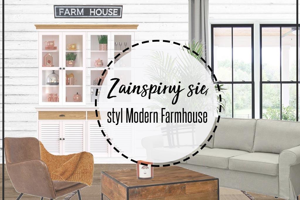 styl modern farmhouse