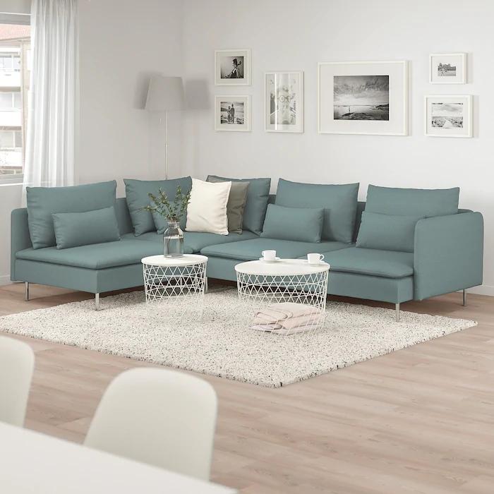 sofa narożna IKEA