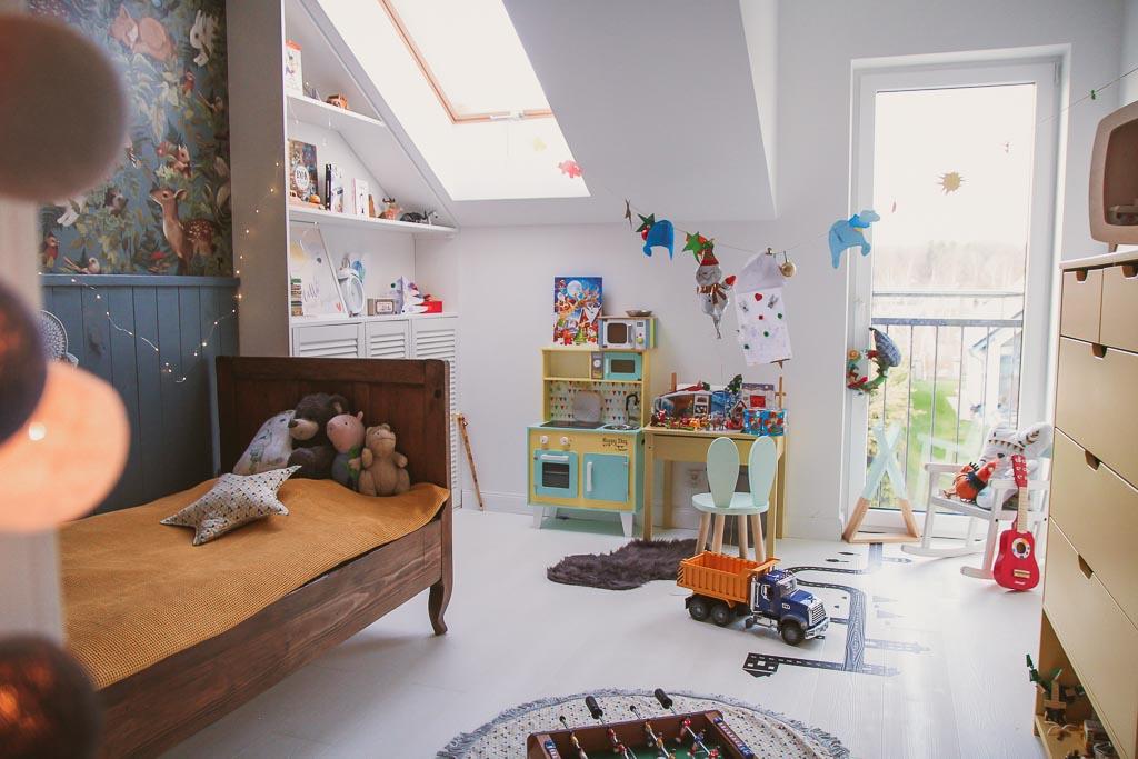 pokój dziecięcy vintage
