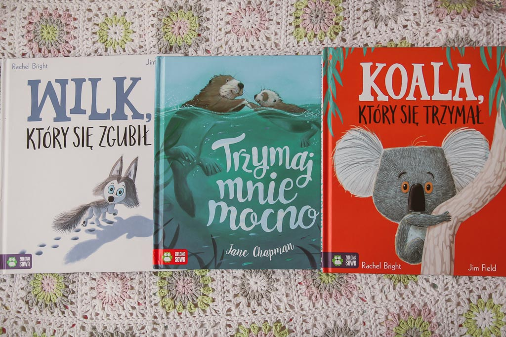 książki dla pięciolatków