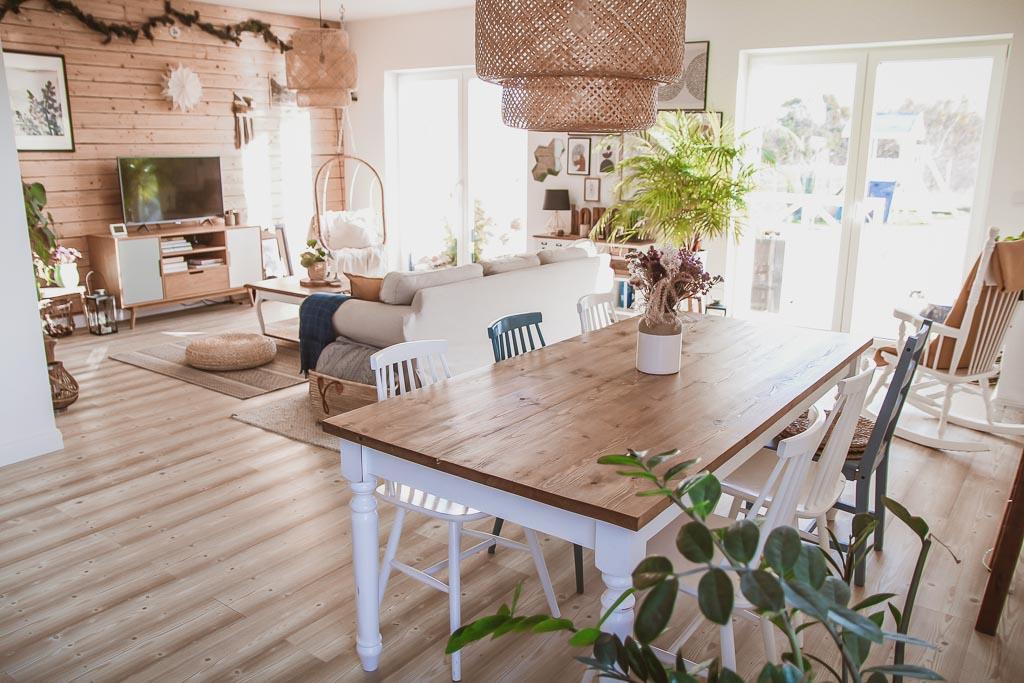 DIY Zbuduj sobie stół - stół w stylu rustykalnym!
